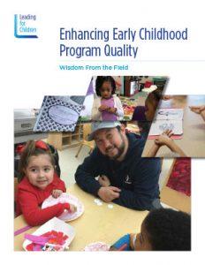 Enhancing Early Childhood Program Quality
